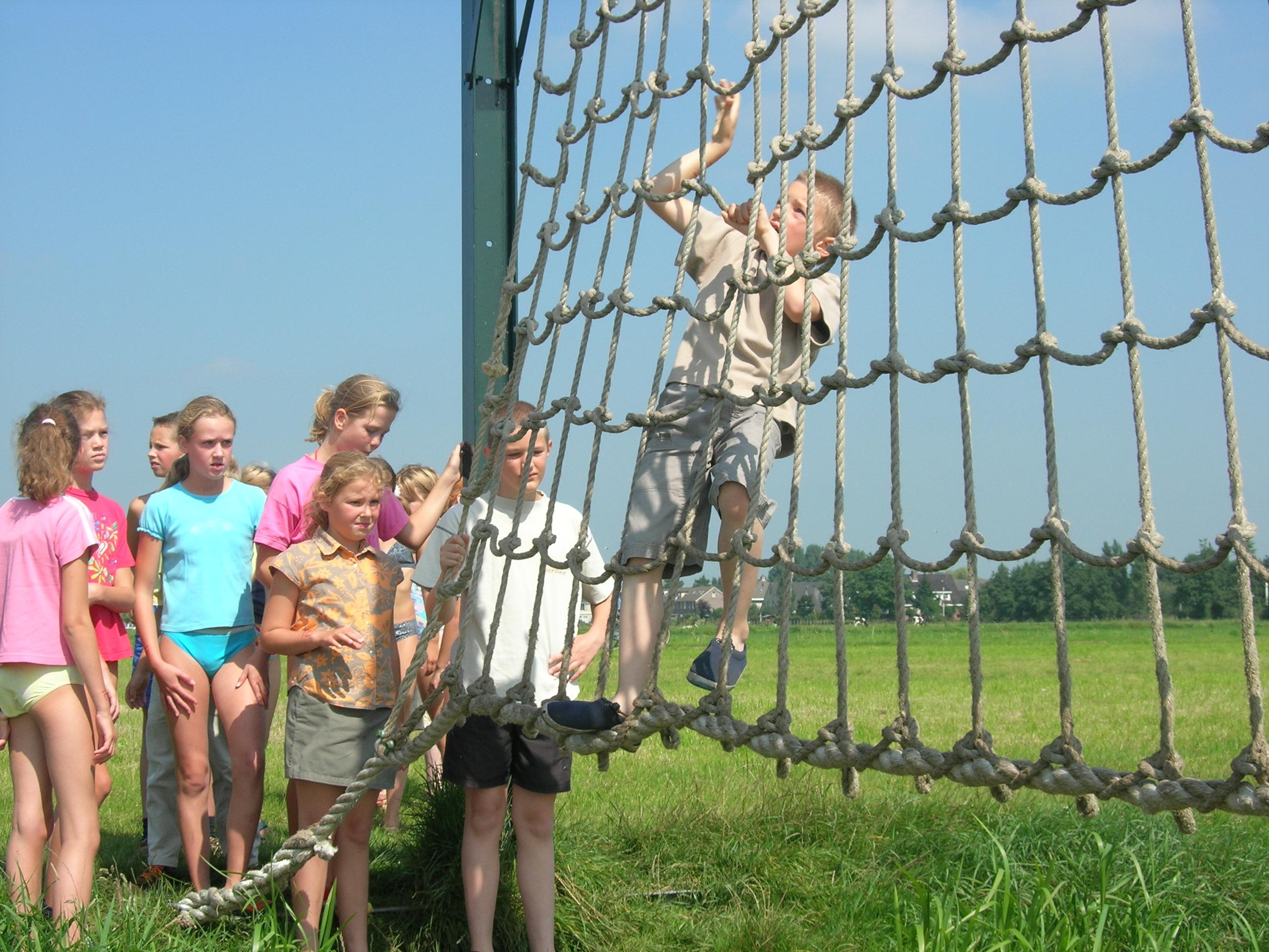 Poldersport bij Camping De Boerinn