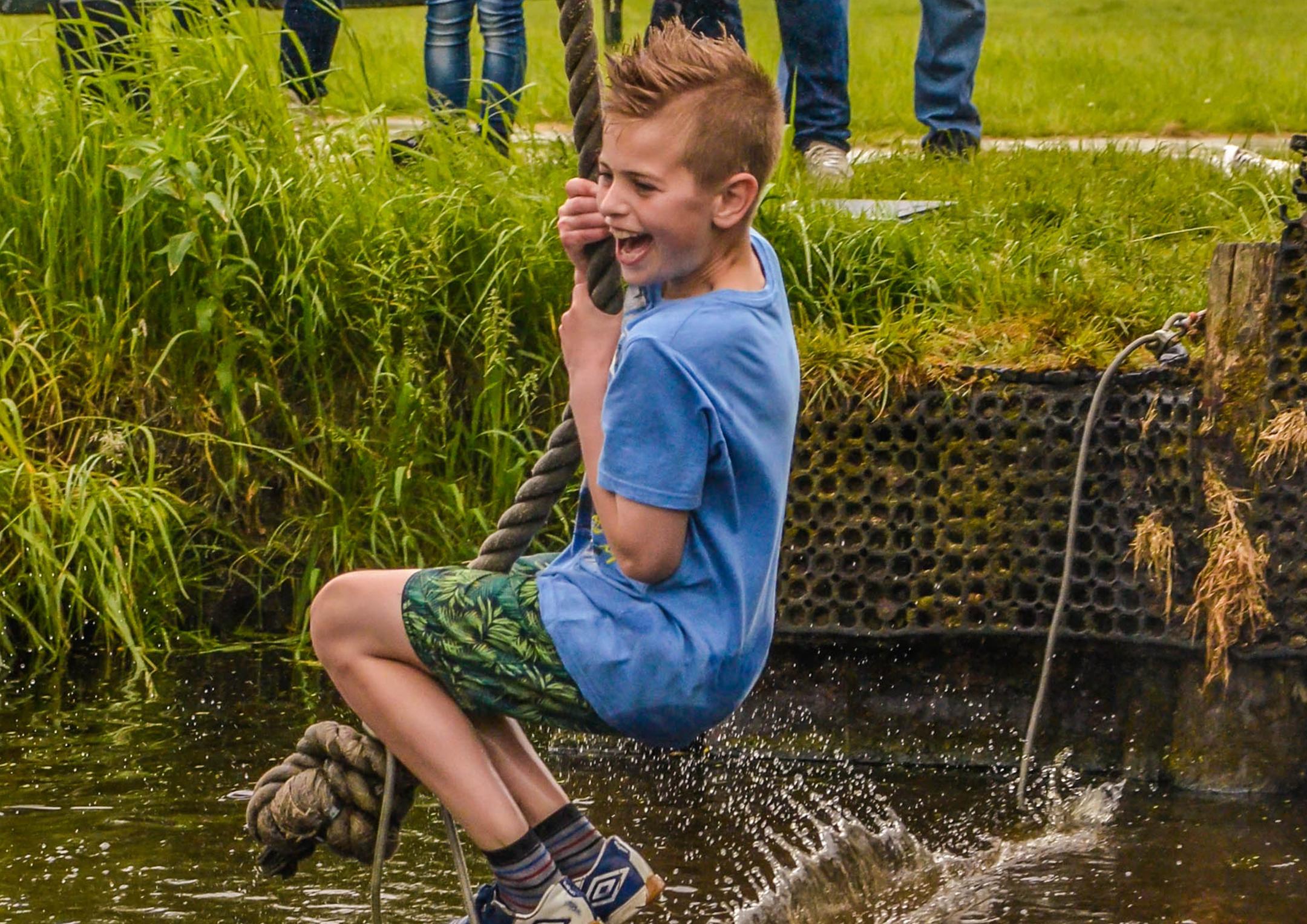 Actief kinderfeestje bij De Boerinn