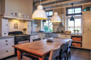 de keuken van vergaderruimte de Hoeve