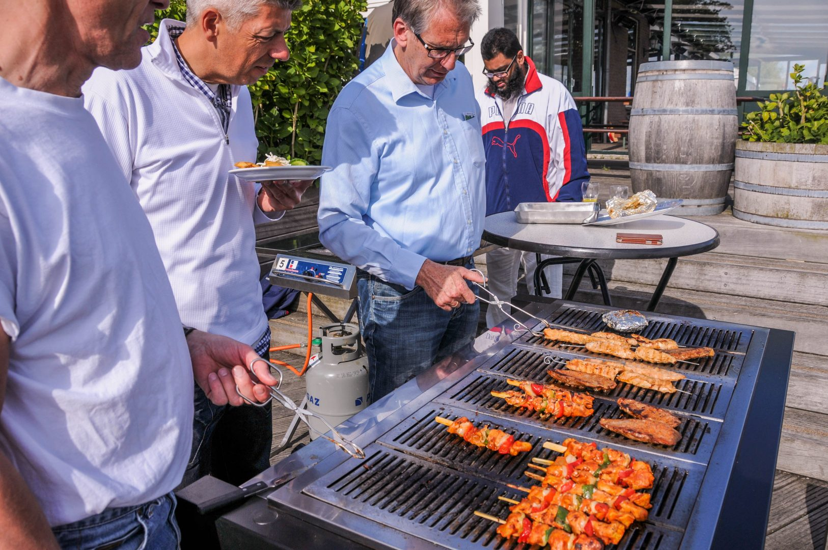Bedrijfsborrel en -barbecue organiseer je bij Boerderij de Boerinn