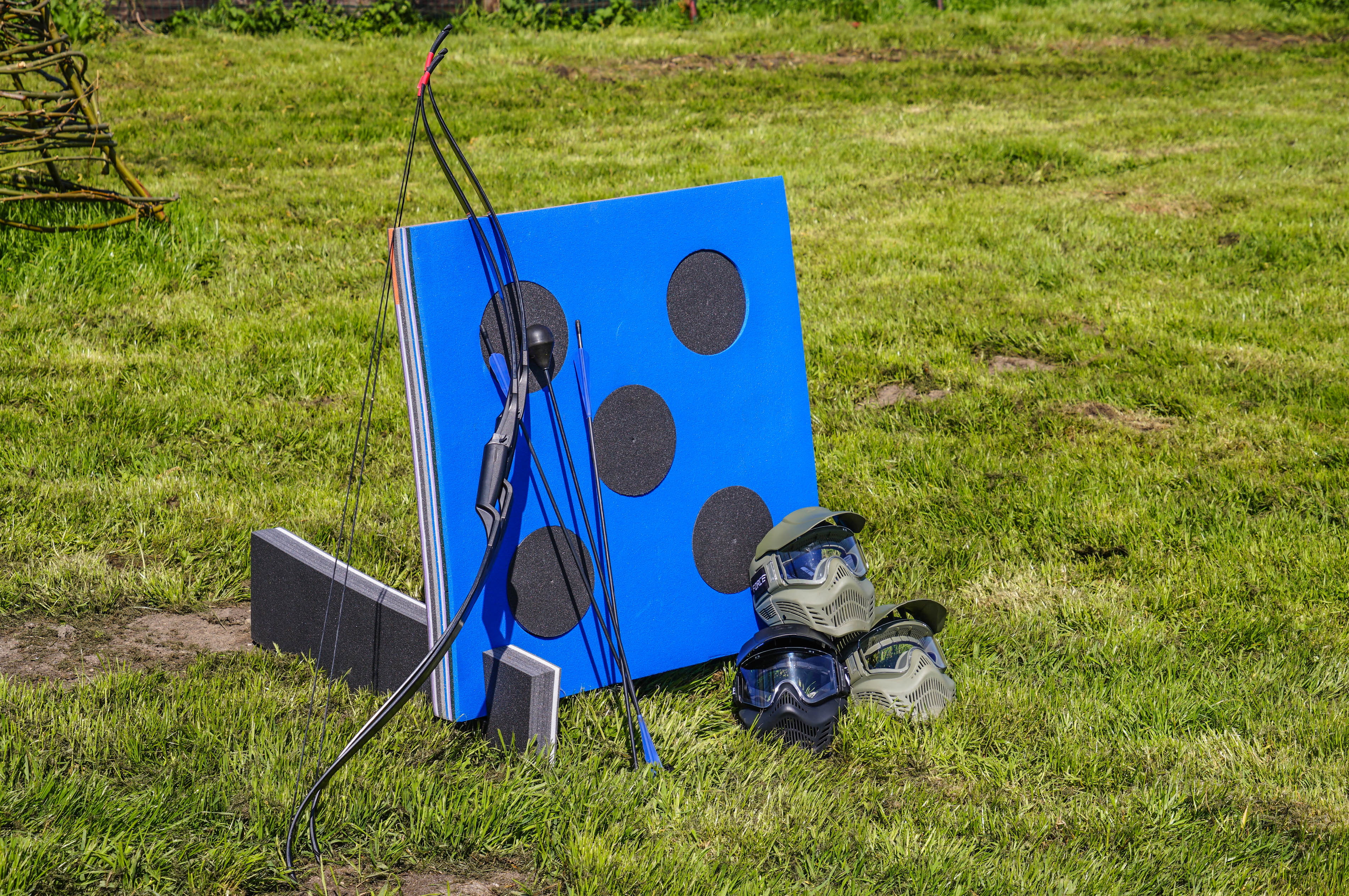 Archery tag target