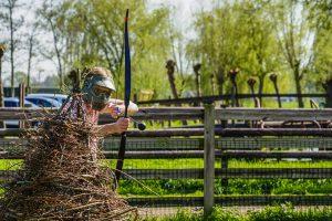 Archery tag bij Boerderij de Boerinn