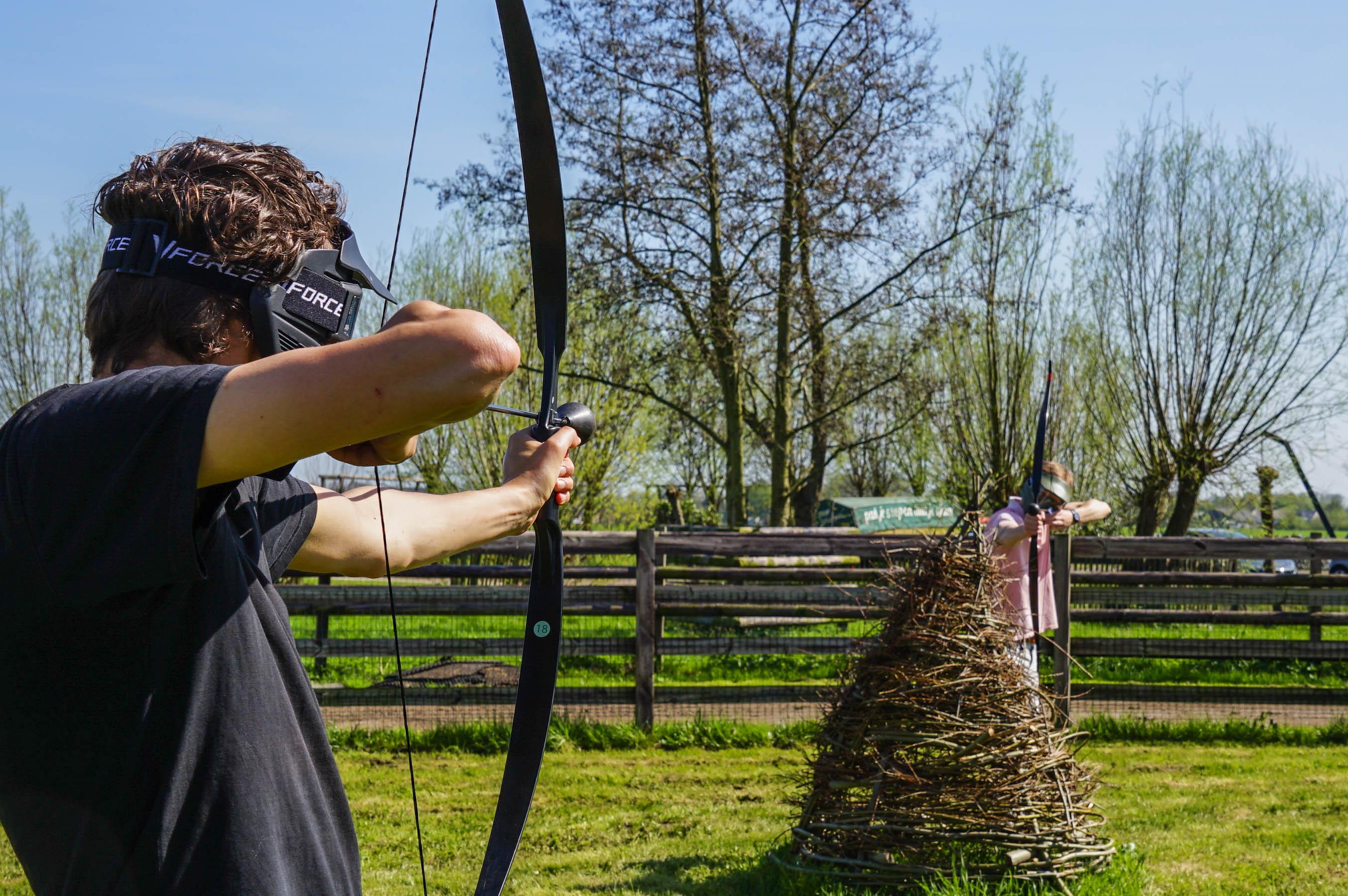 Archery tag in het groene hart