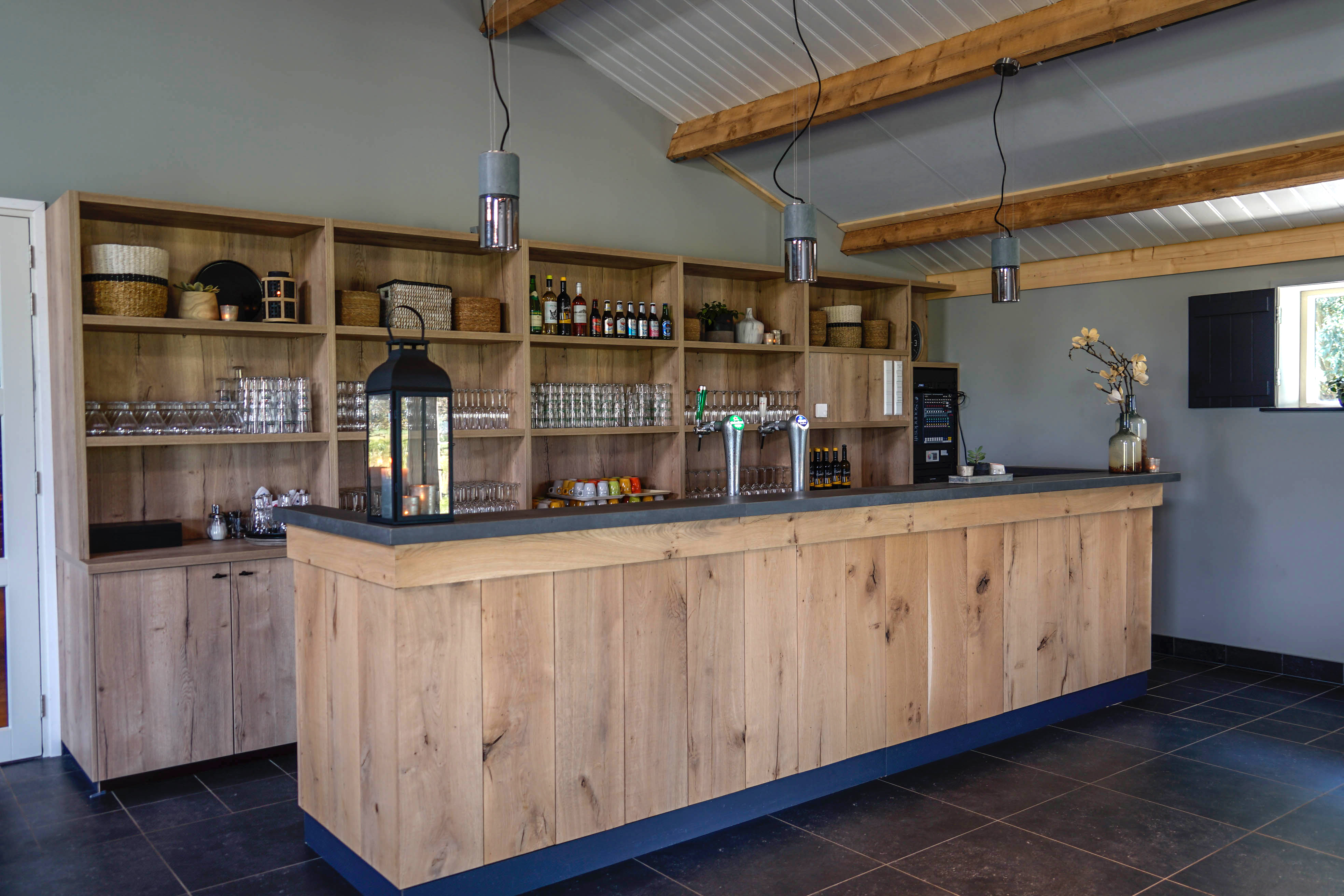 De bar in het Grechthuis