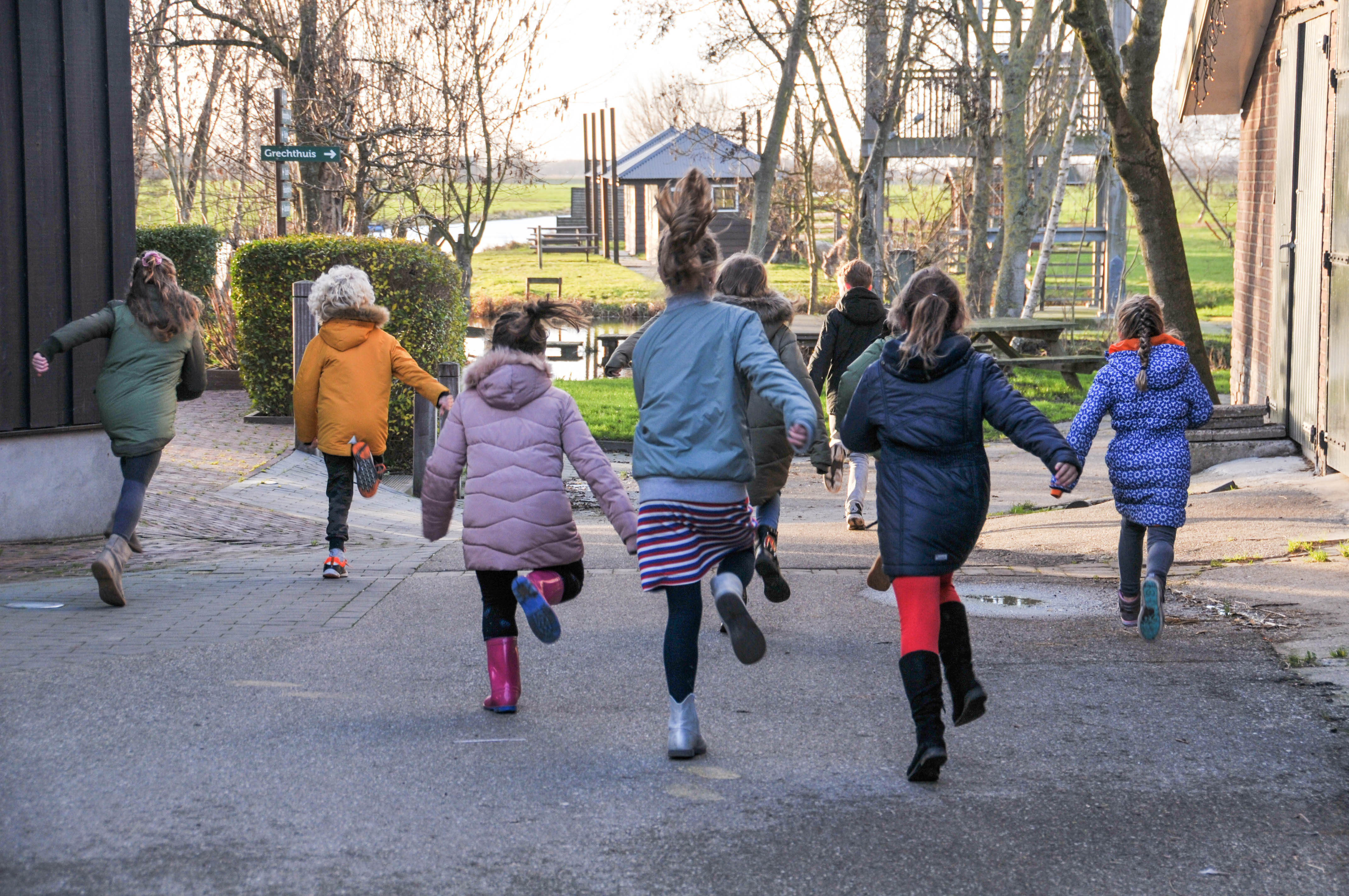 Kinderfeestje boerenstalspelen organiseren bij Booerderij de Boerinn