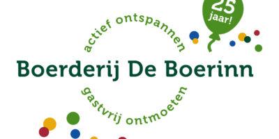 Boerderij De Boerinn bestaat 25 jaar!