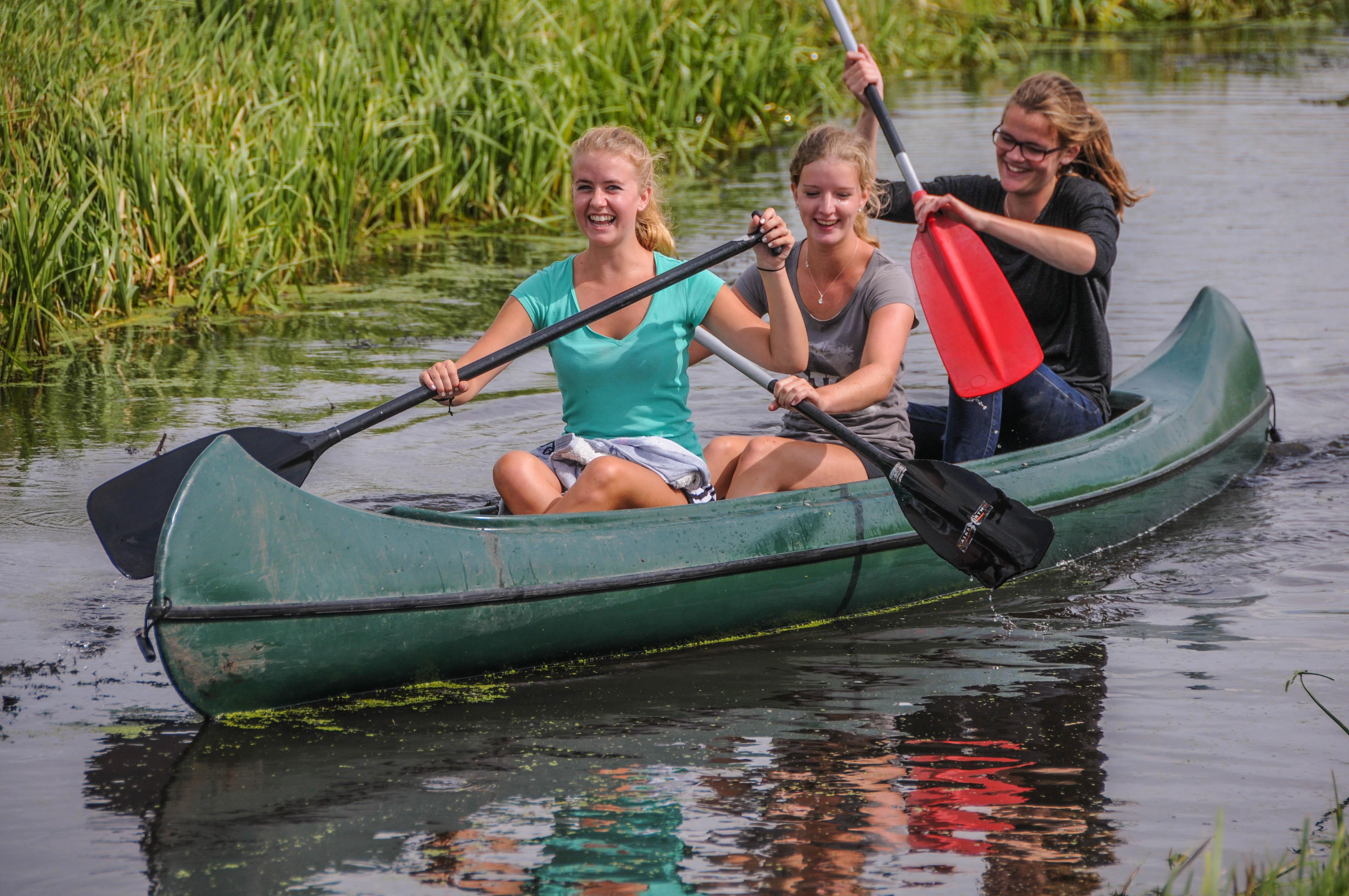 Kanovaren | Camping de Boerinn