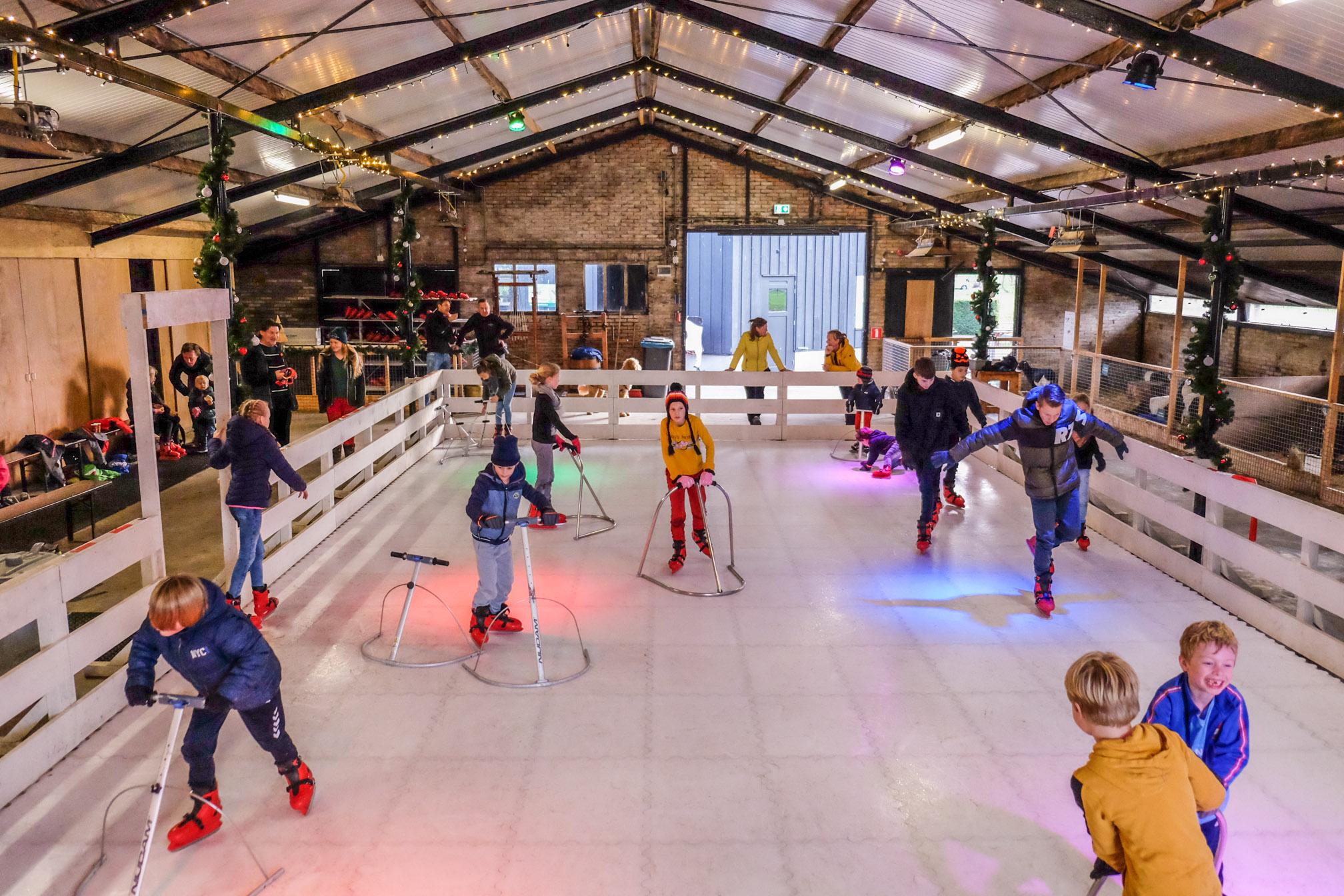 Ontdek de schaatsbaan | Boerderij de Boerinn
