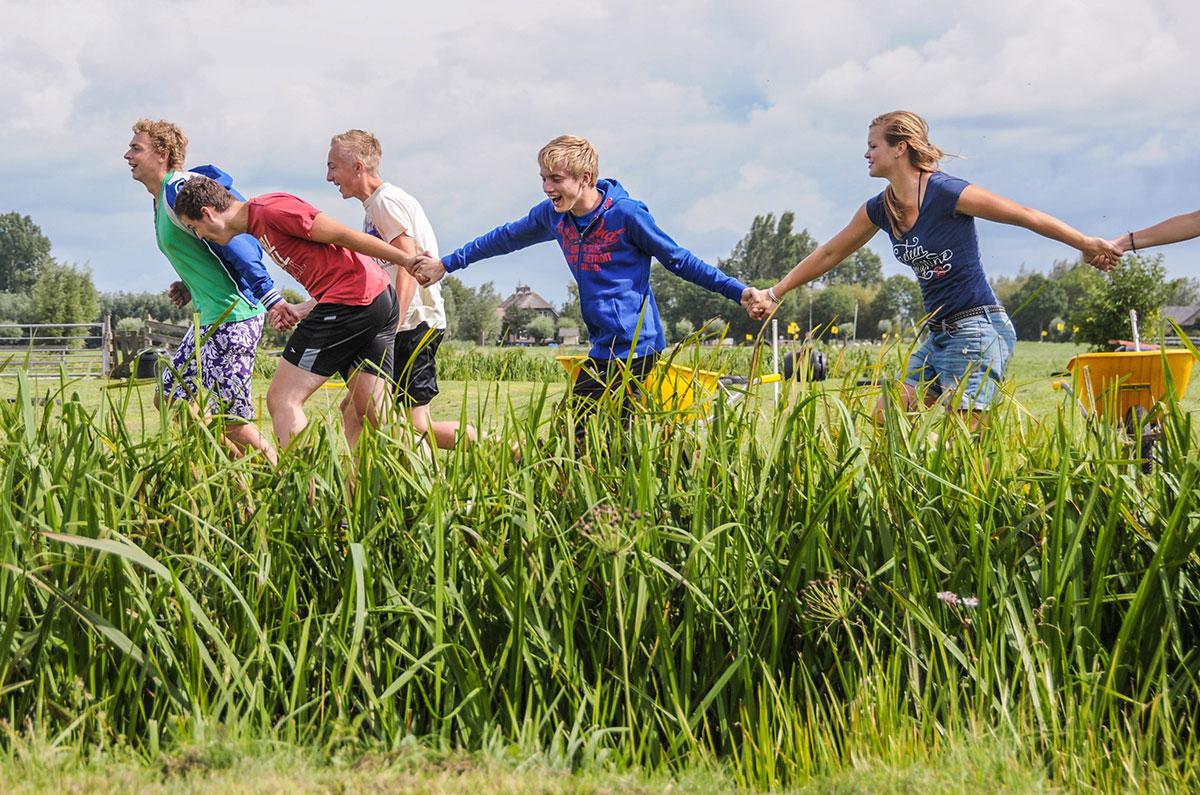 Poldersport scholieren | Boerderij de Boerinn